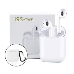 China i9s tws Earbuds Mini Wireless Bluetooth Earphones for android iPhone Bluetooth Headset v5.0 Headphones with magnetic charging box suppliers