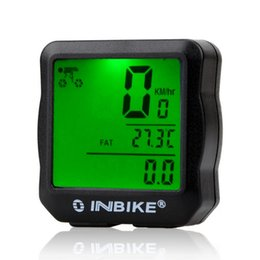 Function Suits Australia - INBIKE Wired Bicycle Odometer Waterproof Backlight LCD Digital Cycling Bike Computer Speedometer Suit for Bikes Dropshipping #233166