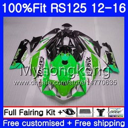 Rs 125 abs faiRing kit online shopping - Injection OEM For Aprilia RS RS125RR RS4 Repsol green HM RSV125 RS RS125 Fairing kit