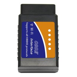 Wi fi car online shopping - Elm327 Wi fi OBD Diagnostic Car Auto Scanner With Best Chip Elm327 Wifi OBD Suitable For IOS Android iPhone Windows