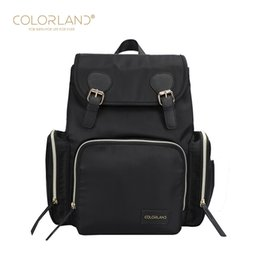 354b98b006 COLORLAND Baby Diaper Backpack Bag Mom Stroller Nappy Changing Mommy  Maternity Mother Organizer Wet Travel Bags Care