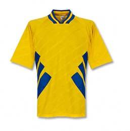 Football Jerseys For Teams NZ - 1994 for Sweden retro soccer jerseys DAHLIN LARSSON BROLIN INGESSON vintage Shirts yellow uniform national football team home soccer outfits