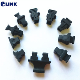 $enCountryForm.capitalKeyWord Australia - 100pcs SC dust cap for EPON GOPN module SC adapter plug protective cover for fiber Modem soft silicone free shipping ELINK