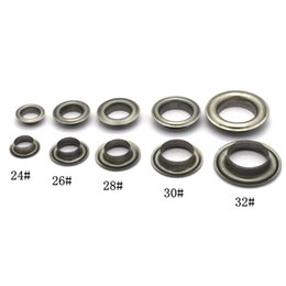 Shoes For Crafts Australia - 18mm(inner) eyelets grommets with washers Metal Grommets rivets metal eyelets for canvas leather craft shoes