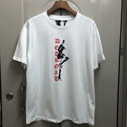 $enCountryForm.capitalKeyWord Australia - VLONE Steel pipe girl 19SS Men Summer New Print T-shirt Black White