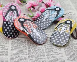 $enCountryForm.capitalKeyWord Australia - Flip-Flop Pedicure Kit Slipper Nail Manicure Set Bridal Shower Favors Wedding Favor Party Gift Souvenirs SN2954