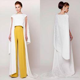 $enCountryForm.capitalKeyWord NZ - Specail Design Vestidos 2019 Azzi & Osta Couture Evening Dresses Pants Suits Floor Length Fashion Formal Evening Gowns