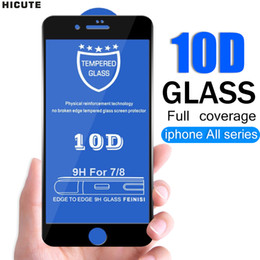 $enCountryForm.capitalKeyWord NZ - 10D Full coverage protective glass for iPhone 6S 7 8 plus X XR XS MAX glass on iphone 7 8 6 6S X XR XS MAX screen protector