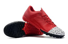 $enCountryForm.capitalKeyWord Australia - New 2019 Mercurial Superfly VI VAPORX Red White Football Boots Low Help Indoor TF Soccer Shoes Mens Designer Shoe CR7 Soccer Cleats