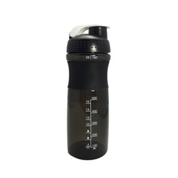 Powder Bottles UK - Sports Protein Shaker Bottle With Mix Ball Milk Protein Powder Mixer Water Fitness Gym Outdoor Bicycle