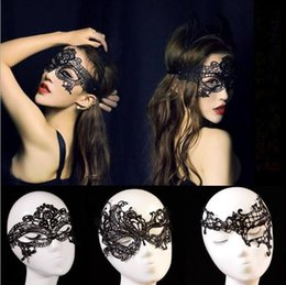 $enCountryForm.capitalKeyWord Australia - Lace Halloween Masks Lovely Party Venetian Masquerade Decorations Half Face Lily Woman Lady Sexy Mardi Gras Masks For Christmas Gift Disco