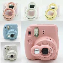 wholesale instax camera 2019 - New Selfie Mirror for Instax Camera Mini 8 Mini 7s 9 Self Portrait Mirror Close Up Lens Selfie for Instant Camera cheap