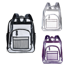 clear color backpack 2020 - 2019 New Cute Clear Transparent Women Backpacks PVC Jelly Color Student Schoolbags Women Clear School Bags Knapsacks che