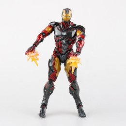 $enCountryForm.capitalKeyWord Australia - The Avengers Play Arts PA change change ironman Iron Man Packed movable hand to do