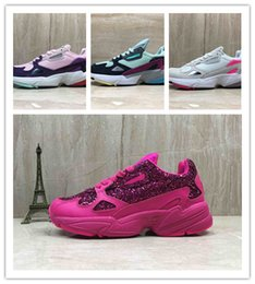 Sizes For Shoes NZ - Free shipping New Falcon W Women Running Shoes For High Quality women shoes luxury designer sneakers Originals jogging outdoors Size 36-40