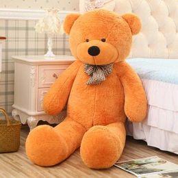 $enCountryForm.capitalKeyWord Australia - 140CM Kawaii Genuine Hug Teddy Bear Urso De Pelucia Plush Stuffed Animal Dolls Kids Toys Brinquedos Teddy Bear Girlfriends Gift