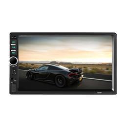 Автомобильный DVD Радио мультимедиа аудио плеер Bluetooth ЖК-дисплей с сенсорным экраном музыка MP5 плеер HandFree поддержка FM-передатчик zk30