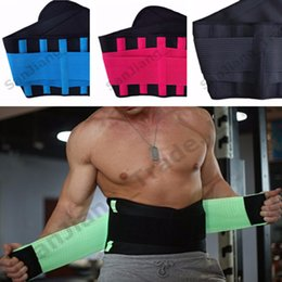 Cotton Body Slimmer Australia - Unisex Belt Power Thermo Slimming Shaper Women Men Body Waist Shaper Belts Sports Fitness Waist Trainer Adjustable Shapers S-3XL 2019 A42306