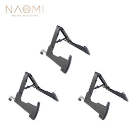 $enCountryForm.capitalKeyWord Australia - NAOMI 3 Pcs Aroma AGS-02 Guitar Stand Bass Stand Black Rabbit Style Metal Stand Extend Guitar Parts Accessories New