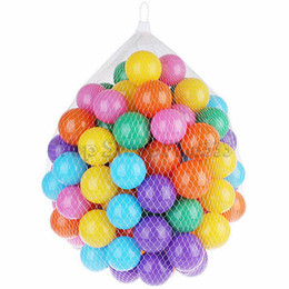 Baby Toys 5.5CM Colorful Marine Ball Wave Baby Funny Toys Stress Air Ball Outdoor Fun Sports Swim Pool Ocean play ball on Sale