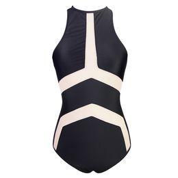 $enCountryForm.capitalKeyWord UK - 2019 THE NEWESTGLAMCARE SWIMWEAR Women's Sexy Bikini Two Pieces Bathing Beach Wear One Pieces Sexy Mesh Swimsuit Black