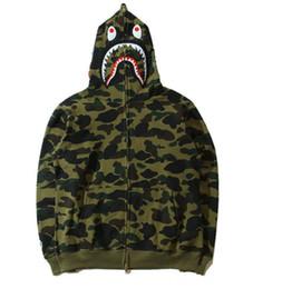$enCountryForm.capitalKeyWord Australia - New Men's women Lovers Sportwear Coat Jogger Tracksuit Zipper Fleece Sweatshirt Crewneck Bird OVO Drake Black Hip Hop Hoodie Men Shark mouth