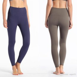 womens tight yoga pants UK - Women Yoga Pants Sweatpants High Waist Sports Gym Wear Leggings Elastic Fitness Lady Overall Full Tights Workout Womens Leggings