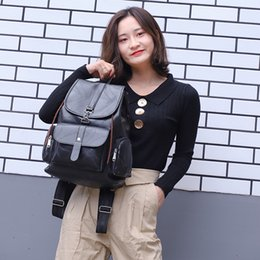 Discount couple school bag - Xiniu 2018 Women Casual Nylon Couple Backpack Simple Versatile College Campus Backpack School Bags for Teenage Girls Boo