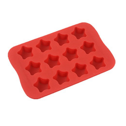 China Star Shape Silicone Ice Cube Mold DIY Cake Jelly Chocolate Tool supplier star shape silicone cake mold suppliers