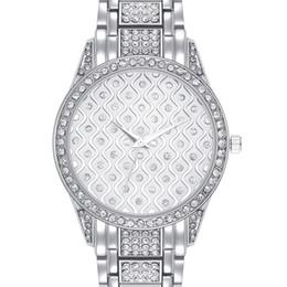81329a02d Nuevo reloj de mano de las señoras online-Nuevo Crystal Dial Luxury cuarzo  reloj para