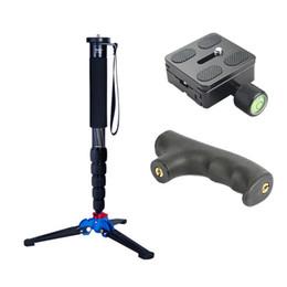 "Dslr Camera Stand Tripod Australia - Manbily C-555 Carbon Fiber Camera Monopod With M13 Legs Stand Base 3 8""screw Professional Mini Tripod For Canon Nikon DSLR Phone"