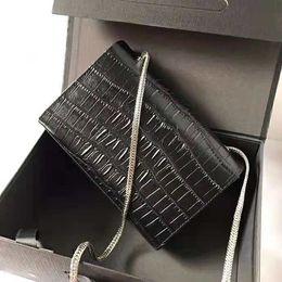 $enCountryForm.capitalKeyWord NZ - Crocodile pattern cowhide Designer Handbags high quality Luxury Handbags Famous Brands women Original Genuine Leather Shoulder Bags