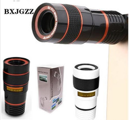 Universal Phone Camera Lens Australia - Universal Clip 8X 12X Zoom Mobile Phone Telescope Lens Telephoto External Smartphone Camera Lens for iPhone For Sumsung For Huawei