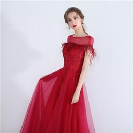 5c63492a8 2019 hit estilo vestido de festa de casamento curto saias moderador vestido  saudação vermelho para o