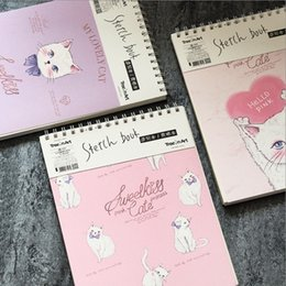 """Notepad Cats Australia - """"princess Cat Coil Spiral"""" Cute Notebook Diary Hand Memo Study Journal Notepad Freenote Stationery Gift"""