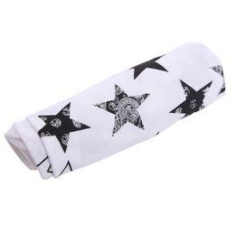 $enCountryForm.capitalKeyWord UK - 80cm*60cm Baby Soft Cotton Blankets Swaddling Bed Star Printed Swaddle Wrap Sleeping Bag Soft Receiving Blankets