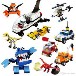 $enCountryForm.capitalKeyWord Australia - Kids Building blocks Twist Eggs Toys 24 styles Dinosaur Space Littlle Monster Series Bricks Toys Best Gifts for Kids