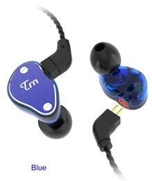 Pin ears online shopping - 2019 Newest TRN V60 In Ear Earphone HIFI DJ Monitor Running Sport Wired With Microphone Phone Earplug Headset Pin mm Cable car