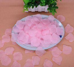$enCountryForm.capitalKeyWord Australia - IN STOCK Cheap Silk Rose Flower Petals 1000pcs A Lot Free Shipping Artificial Flowers Wedding Birthday Party Decorations Party Supply