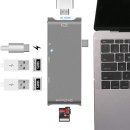 $enCountryForm.capitalKeyWord Australia - USB Type C Hub Adapter,7 in 1 USB C Hub, with 4K HDMI VGA Port,3USB 3.0 Ports, Type Charging Port, SD Micro-Card Reader for