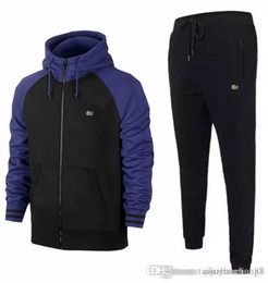 Mens hiking clothes online shopping - Sweatshirts Sweat Mens Clothing Men s short Tracksuits Jackets Sportswear Sets Jogging Hoodies Suit fashion gym bee printed