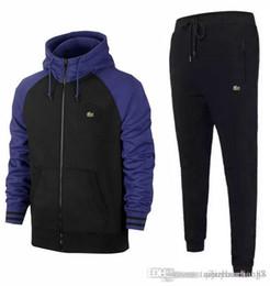 Toptan satış Tişörtü Ter Erkek Giyim erkek kısa Eşofman Ceketler Spor Setleri Koşu Hoodies Suit moda spor salonu arı baskılı