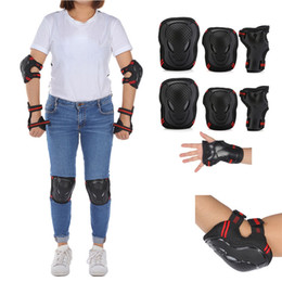 $enCountryForm.capitalKeyWord Australia - 6pcs Set Adults Child Skating Protective Gear Elbow Knee Pads Wrist Guards Cycling Skateboard Ice Skating Roller Protector M L #508284