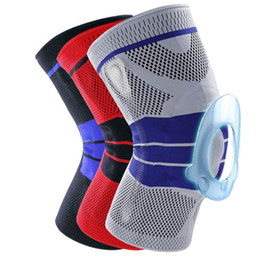 $enCountryForm.capitalKeyWord Australia - 2019 1pc Basketball Knee Brace Compression knee Support Sleeve Injury Recovery Volleyball Fitness sport safety sport protection gear