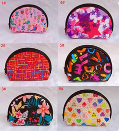Hand Made Bags Style Australia - Wallet Cosmetic bag Make Up Hand Bag 6 styles waterproof wash makeup bags portable coin purse Multicolor