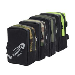 Gear For Fishing Australia - lure tackle bag Fly Bag Portable Mini Fishing Lure Tackle Gear Pocket Waterproof Fishing Storage Pouch Outdoors Sports Case for Pesca