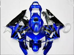 Honda F5 Australia - New Injection Mold Motorcycle ABS Full Fairings kit Fit for HONDA CBR600RR F5 2003 2004 03 04 600RR CBR600 nice blue