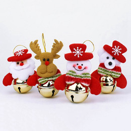 $enCountryForm.capitalKeyWord Australia - Christmas Decoration Xmas Tree Hanging Pendant Santa Claus Elk Snowman Bear Doll Ornaments Dolls Christmas Home Party Decor