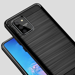 fiber lite NZ - For Samsung Galaxy S10 Lite SM-G770F DSDSM Case Carbon Fiber Cover Shockproof Case For Samsung S 10 Lite Cover Flex Shell
