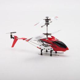$enCountryForm.capitalKeyWord UK - Original Syma S107H Gyro Metal 2.4G Radio 3.5H Mini Helicopter RC Remote Control Altitude Hold Drone for Toys Gift Present RTF